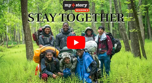 """Stoy Together"" - chronicling St. Benedict's Backpacking Project (Watch Video)"