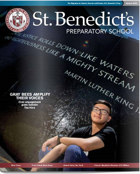 Read the latest St. Benedict's Magazine online - Summer 2019