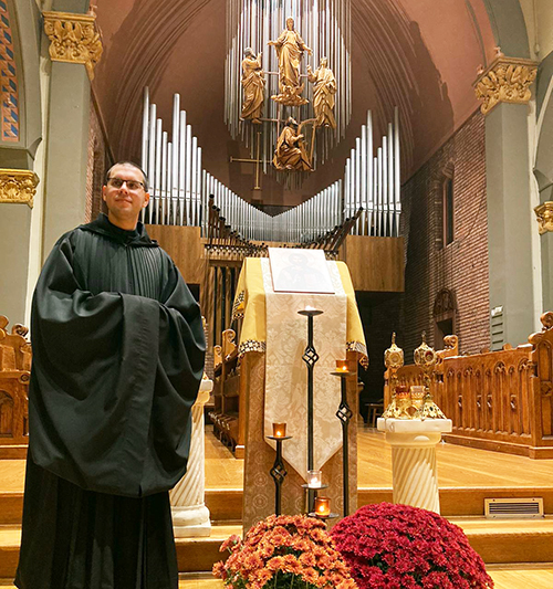Br. Asiel Rodriguez to be Ordained into the Priesthood of Newark Abby on Tuesday