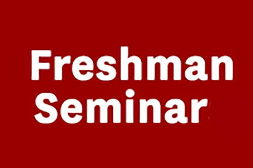 New Freshman Writing Seminar Introduced for the Fall Term