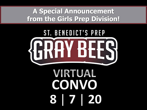 Special Announcement from the Girls Prep Division at Friday's Convocation