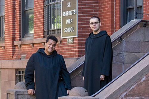 Brs. Simon Peter Clayton and Asiel María Rodríguez, two of the youngest Monks of Newark Abbey, are featured in New Jersey Monthly Magazine