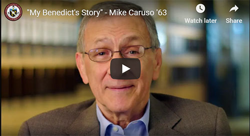 """My Benedict's Story"" - Mike Caruso '63 explains how important The Hive is to him"