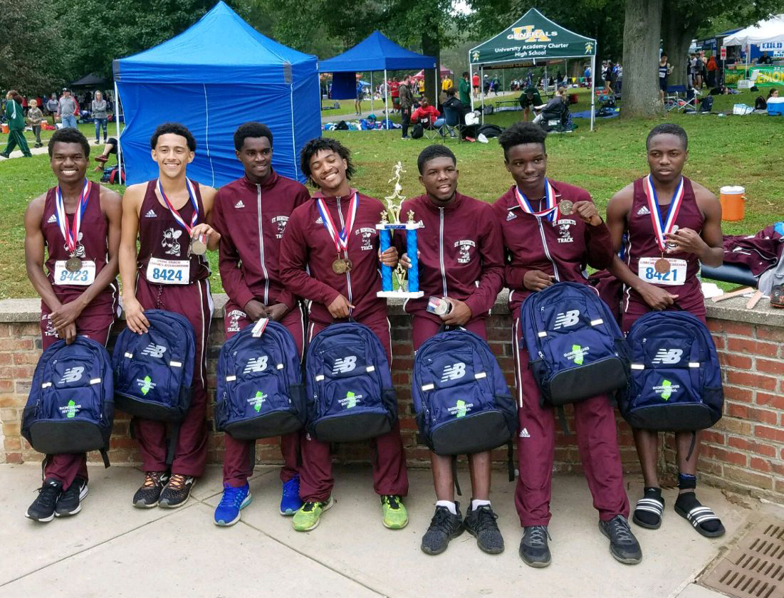 Gray Bees cross country team wins Shore Coaches Invitational