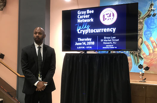 The Hive's latest Career Networking event on Cryptocurrency hosted by Donat '03 and led by Nadarajah '04