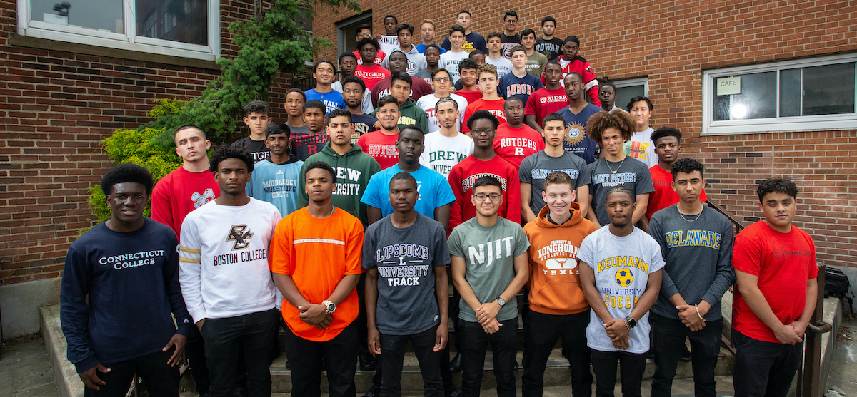 The college bound Class of 2019 at St. Benedict's Prep