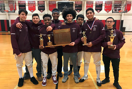 Gray Bees back up new fencing facility with a State Prep Championship