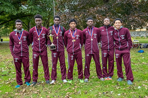 Cross county team successfully defends county title